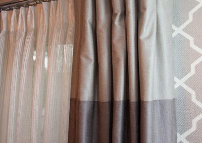 Hand-draw-sheer-drape-on-double-rod
